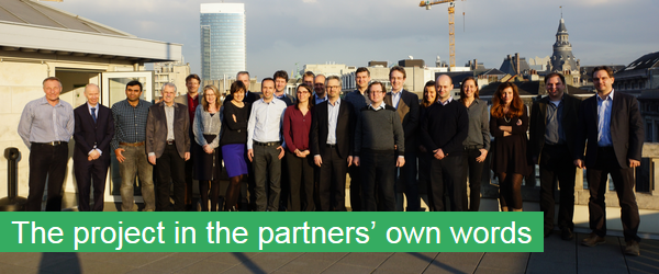The project in the partners' own words
